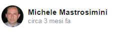 Recensione Facebook da Michele Mastrosimini