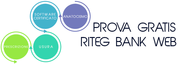 Software anatocismo e usura. Analisi conti correnti, mutui e leasing. Prova gratis Riteg Bank